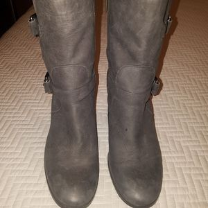 Michael Kors leather boots..